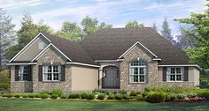 Wayne homes; McAllister home. Ranch model with open flow. 1857 square feet. LOVE this model the best. #Affordable
