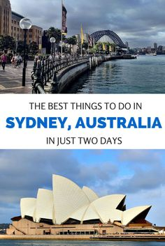 GOOD INFO From how to get a great view of the Harbour Bridge and Opera House to the best scenic walks, here's how to see the top sights in Sydney, Australia in just two days. Brisbane, Melbourne, Perth, Australia Tourism, Visit Australia, Australia Trip, Western Australia, Queensland Australia, South Australia