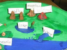 landform project - Study Psalm 104 with this lesson!