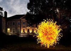 Cheekwood art & gardens. Originally the home of the Cheeks, responsible for Maxwell House coffee. Now a botanical garden and art gallery.  Loved the Chihuly exhibit last fall.