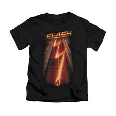 Kids will love wearing this Flash Ave t-shirt that shows Barry Allen zipping down a Central City street from The Flash TV Show. Available in Toddler, Kids and Youth sizes. - Ships only within the Unit