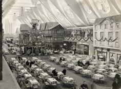 1933 – Das Weindorf in der Festhalle der Berliner Ausstellung Grüne Woche