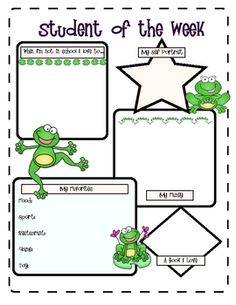 FROGS Themed Classroom Kit ~ Printables & More