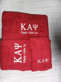 Kappa Alpha Psi towels