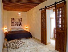 Love these bedroom doors . Dar Rafti Riad in Fez, Morocco by Bouvier Barnyard Door, The Barnyard, Riad Fez, Bedroom Doors, Moroccan Style, Dream Decor, Home Projects, Sweet Home, Home And Garden