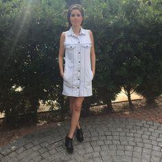 Colete e vestido jeans da marca Coleteria ♡ - Coletes femininos e infantis - Coleteria | sempre♡