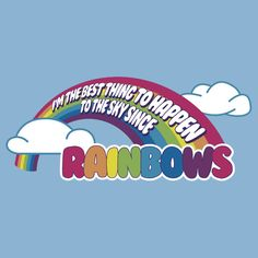 Cabin Pressure Quote: (...) best thing to happen to the skies since RAINBOWS