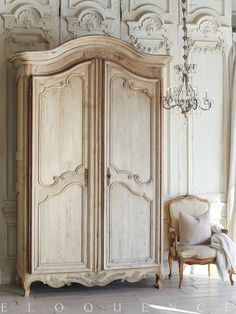 Eloquence Inc Furniture Collection - French-Style Louis XV & Louis XVI Furniture Antique French Furniture, Classic Furniture, Oak Wardrobe, French Apartment, 3 Piece Sectional, Buy Chair, Closet Bedroom, Furniture Collection, French Vintage