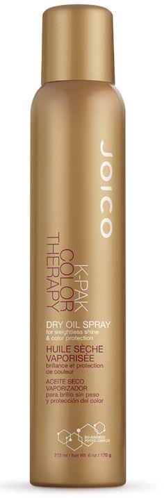 K-PAK Color Therapy Dry Oil chega para completar a linha de tratamento Joico