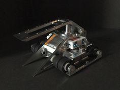 Pneumatic Antweight Robot by Josh Valman , via Behance