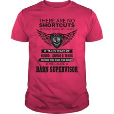 There Are No Shortcuts To Mastering My Craft BARN SUPERVISOR T-Shirts, Hoodies. Check Price Now ==► https://www.sunfrog.com/Jobs/There-Are-No-Shortcuts-To-Mastering-My-Craft-BARN-SUPERVISOR-Hot-Pink-Guys.html?id=41382