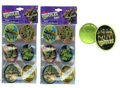 TMNT Ninja Turtle Cupcake Topper Ring - 12 Pcs Teenage Mutant Ninja Turtles http://www.amazon.com/dp/B00JM59PN2/ref=cm_sw_r_pi_dp_.qr9ub1PY0TYE