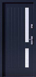 Drzwi zewnętrzne nowoczesne model 688,1 w kolorze antracyt