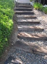 railroad ties landscaping - Google Search: