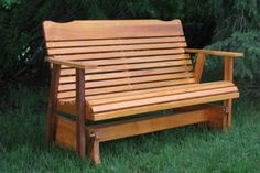 Gliding bench for the back porch: $170