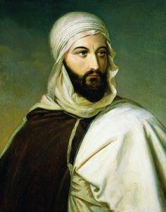 L'Émir Abd el-Kader, par E. M. Godefroy (~1835)