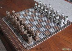 Шахматы кольчужного плетения