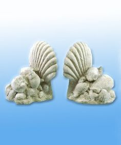 This Seashell Bookends is perfect! #zulilyfinds