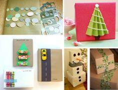 Fun for Children – http://curiouslittlekid.com/mom-problems/50-amazing-christmas-wrapping-ideas/