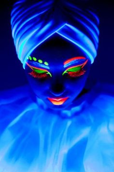 Neon Makeup For The Black Light