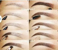 How do I fill your eyebrows? Instructions for creating eyebrows, including . - How do I fill your eyebrows? Instructions for creating eyebrows, including … # - How To Do Eyebrows, Filling In Eyebrows, How To Pencil Eyebrows, Eyebrows Grow, Tweezing Eyebrows, Threading Eyebrows, Threading Salon, Plucking Eyebrows, Face Threading