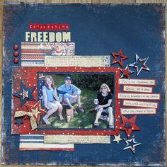 Celebrating Freedom - Scrapbook.com