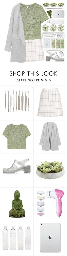 """""""Newchic : 10"""" by cinnamon-and-cocoa ❤ liked on Polyvore featuring Monki, JuJu, Ethan Allen, Urban Trends Collection and Seletti"""