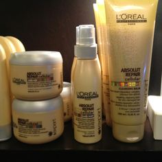 Loreal absolut repair system to get your hair back in great condition