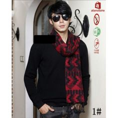 High-Grade Men's Scarf,Wrap,Shawl,Pure Silk Making,Double Layered, New Style Real Natural Silk Made