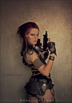 Post Apocalypse by LivingDreadDoll @deviantART www.facebook.com/livingdreadd0ll mad max wasteland raider dystopian warrior wastelander apocalyptic sexy post apocalyptic girls cosplay girl female warriors badass goth dieselpunk Tribe Riot