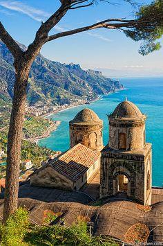 _DSC1195 - Vista di Villa Rufolo - Ravello, Italy by JoshTrefethen.com, via Flickr
