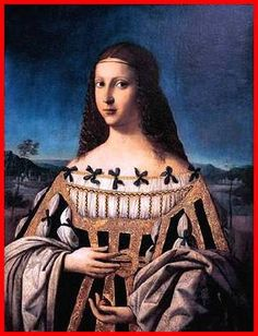 Lucrezia Borgia (18 April 1480 – 24 June 1519) was the illegitimate daughter of Rodrigo Borgia, who later became Pope Alexander VI. Lucrezia's family later came to epitomize the ruthless Machiavellian politics and sexual corruption alleged to be characteristic of the Renaissance Papacy. Lucrezia was cast as a femme fatale, a role she has been portrayed as in many artworks, novels, and films. It is rumoured that she was in possession of a hollow ring that she used frequently to poison drinks.