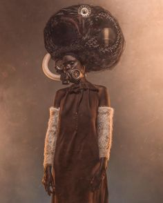 The latest project by photographer and digital artist, Osborne Macharia. This is the story of a special unit of 4 women in a small village within Kipipiri Forest. They were the wives to 4 of the Ma… Afro Art, Ex Machina, African Diaspora, Afro Punk, African American Art, Black Artists, Photo Series, Dieselpunk, Instagram