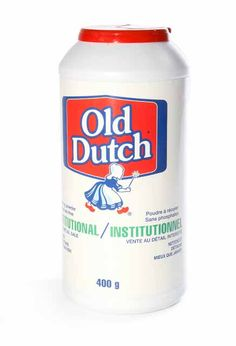 Cleansing Powder Old Dutch: Industrial and institutional cleaning powder Drink Bottles, Cleanse, Dutch, Industrial, Household Tips, Face Powder, Cleanser, Dutch Language, Diy Household Tips