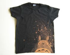 Totoro t-shirt (women's small) LOVE this style! from Ragnarokkr on etsy