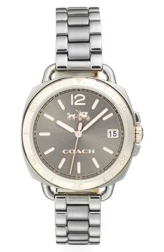 Coach 'Tatum' Square Bracelet Watch, 36mm available at #Nordstrom