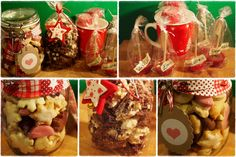 Weihnachtsplätzchen, heiße Schokolade am Stiel und Schokokrossies