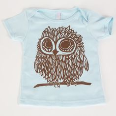 cool owl shirt