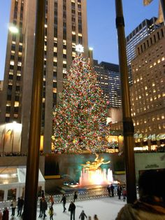 Christmas season in NYC  ~~Someday I will get to go to NYC for Christmas.