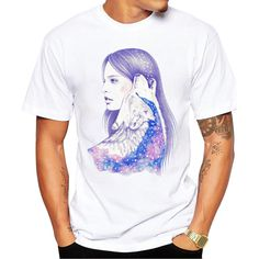 Girl And Wolf Cos... http://www.jakkoutthebxx.com/products/girl-and-wolf-cosmic-love-mens-short-sleeve-casual-white-t-shirt?utm_campaign=social_autopilot&utm_source=pin&utm_medium=pin #alloverprint #mall #style #trending #shoppingaddict  #shoppingtime #musthave #onlineshopping #new