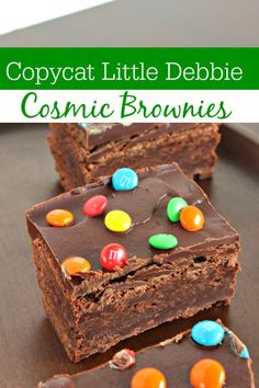 Little Debbie fans will love this copycat recipe! These copycat Little Debbie Cosmic Brownies are as close to the real thing as you can get at home!