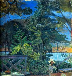 Pierre Bonnard es un maestro del color y tiene una facilidad en retratar escenas de la vida cotidiana.
