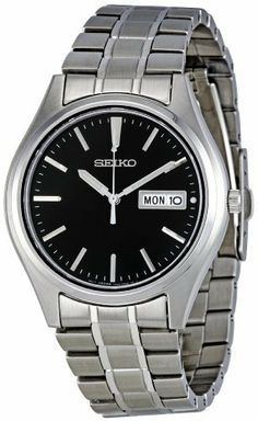 Seiko Men's SGGA65 Stainless Steel Bracelet Watch Seiko. $90.07. Water-resistant to 30 m (99 feet). Hardlex. Quartz movement. Metal case. Case diameter: 37 mm