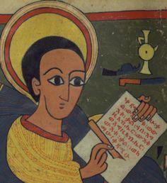 Image of Saint Mark. Ethiopian Gospel . The Walters Art Museum, Baltimore, MD