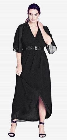 Plus Size Long Sleeve Maxi Dress – Find Long Sleeve Maxi Dresses In Plus  Sizes 69c3e0ff5