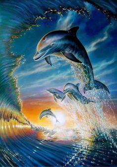 Mejores 85 Imagenes De Delfines En Pinterest Dolphins Dolphin Art