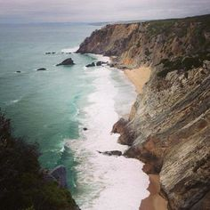 Beautiful but... - Praia da Adraga, Sintra Municipality Traveller Reviews - TripAdvisor