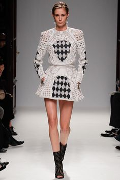 Balmain SPRING 2013 READY-TO-WEAR  checkmate.