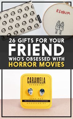 26 Gifts For Your Friend Who's Obsessed With Horror Movies