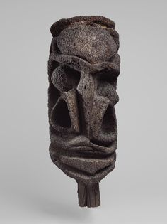 Gable Ornament (P'naret), mid-20th century. Big Nambas people, Malakula Island, Vanuatu. The Metropolitan Museum of Art, New York. The Michael C. Rockefeller Memorial Collection, Bequest of Nelson A. Rockefeller, 1979 (1979.206.1584) #noses #Connections
